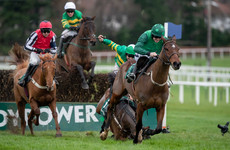 Walsh lands Leopardstown treble as Simply Ned shocks Footpad