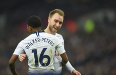 Inexperienced 21-year-old registers hat-trick of assists, as Spurs go second above City