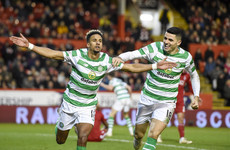 Sinclair hat-trick sees Celtic edge seven-goal thriller at Aberdeen