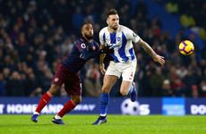 Shane Duffy impresses on return as Arsenal left frustrated at Brighton