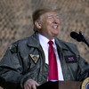 Donald Trump makes surprise Christmas visit to US troops deployed in Iraq