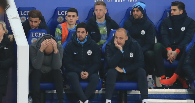 Pep Guardiola refuses to concede Man City's title hopes are over