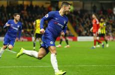 Hazard wants legendary status at Chelsea after reaching landmark