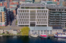 Savills is struggling to let part of this Dublin office and says co-working hubs are the reason why
