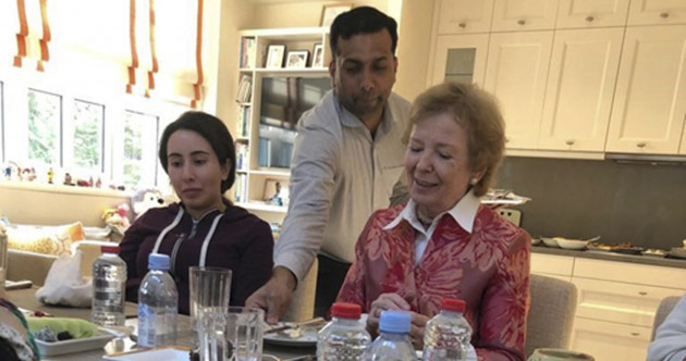 Mary Robinson 'dismayed' at media comments as she comes under fire for claiming Dubai princess is 'troubled'