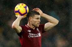 Klopp delivers Liverpool injury update as Milner ruled out of Arsenal clash