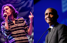 Hozier's made it on to Obama's Songs Of The Year list