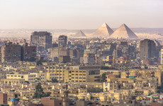 Four people killed as tourist bus hit by roadside bomb at Giza pyramids in Egypt
