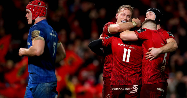 14-man Leinster pay the penalty as Munster win fiery December derby