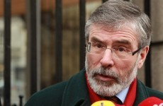 Ouch: Tensions increase as Gerry Adams dismisses Fianna Fáil as 'impotent'