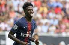 Rodgers reveals Weah visit as Celtic pursue PSG attacker