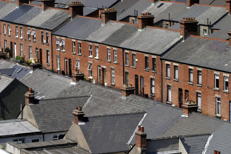 File photo of houses in Dublin.