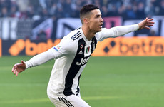 Injury-time VAR drama as Ronaldo's double seals record points tally for Juve