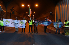 Port Tunnel reopens after being blocked by 'yellow vest' protesters