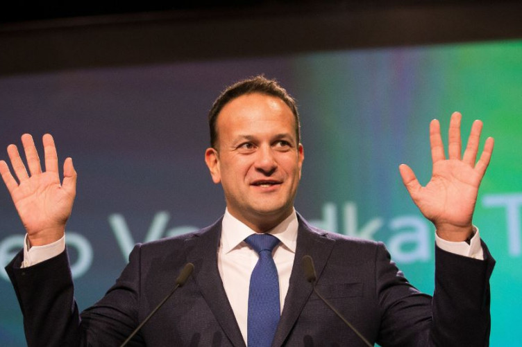 Taoiseach Leo Varadkar at the Fine Gael Ard Fheis in Dublin in November.