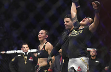 Nunes stuns Cyborg to make UFC history, Jones wins title on return from doping ban