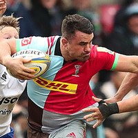 Harlequins ban their own player for stamping but clear him of spitting