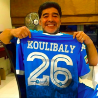 'I also suffered racist songs': Maradona shows support for Napoli's Koulibaly