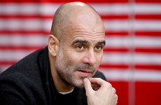 Guardiola fears defeat to Liverpool on Thursday will end City's title hopes