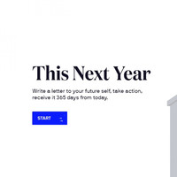If you fancy sticking to your resolutions, this site will let you write a letter to your future self for the end of 2019