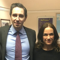 Simon Harris pays tribute to Rhona Mahony, who made history as first female Master of Holles Street