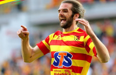 Irish striker Cillian Sheridan is on the move after parting ways with Polish side
