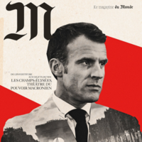 French newspaper apologises for Hitleresque image of Macron on front page