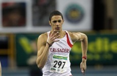 Happy days: Colvert sets Irish U23 100m Record