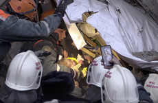 Baby boy rescued from collapsed Russian building after fatal gas explosion
