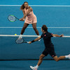Roger Federer claims bragging rights over Serena Williams in Hopman Cup duel
