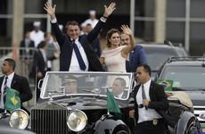 'Trump of the Tropics': Jair Bolsonaro praised as he is sworn in as Brazil's new president