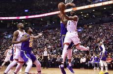 Leonard's career-best 45 points inspires Raptors while Bucks win once again