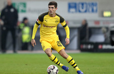 Chelsea land €64m target Pulisic but he'll stay with Dortmund until the summer