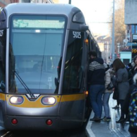 Trams rerouted and services disrupted after passenger falls ill on Luas