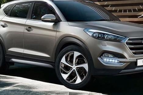 Last year's Hyundai Tucson model.
