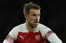 Juventus chief confirms interest in Arsenal midfielder Ramsey