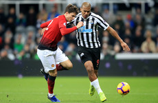 As it happened: Newcastle United vs Man United, Premier League