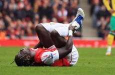 Johnson deliberately broke my leg, says Sagna