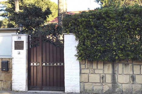 The North Korean embassy in Rome