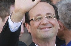 Francois Hollande wins French presidential election