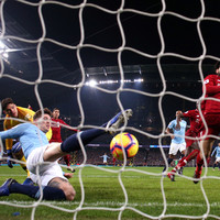 Sane settles compelling top-of-the-table clash to cut Liverpool's lead to four