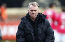 Ex-Ireland international resigns as boss of rising League Two club after seven months