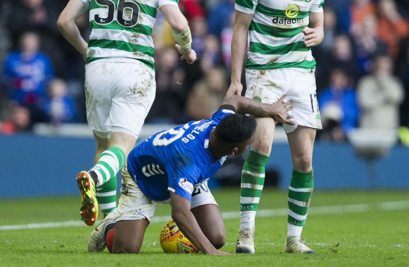 That cannot be right': Celtic call for referee explanation after incidents  involving Rangers striker
