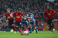 Fifth straight win for Man United as Mata and Lukaku book FA Cup passage against Reading