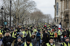 France's 'yellow vest' protesters return to the streets