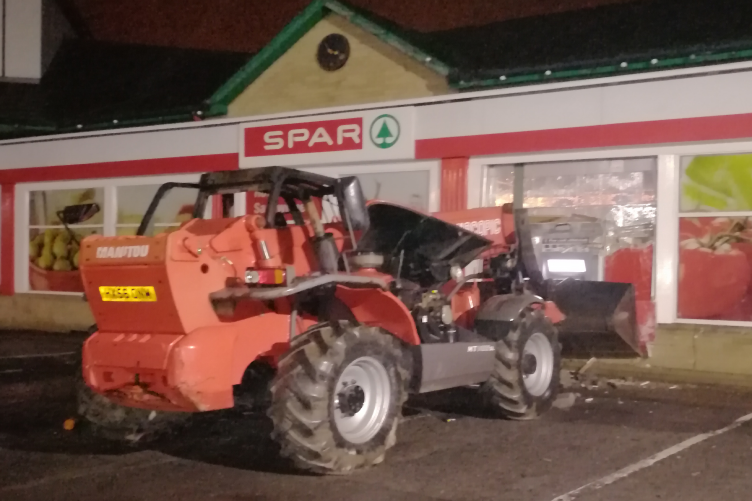 The machinery used in the incident.