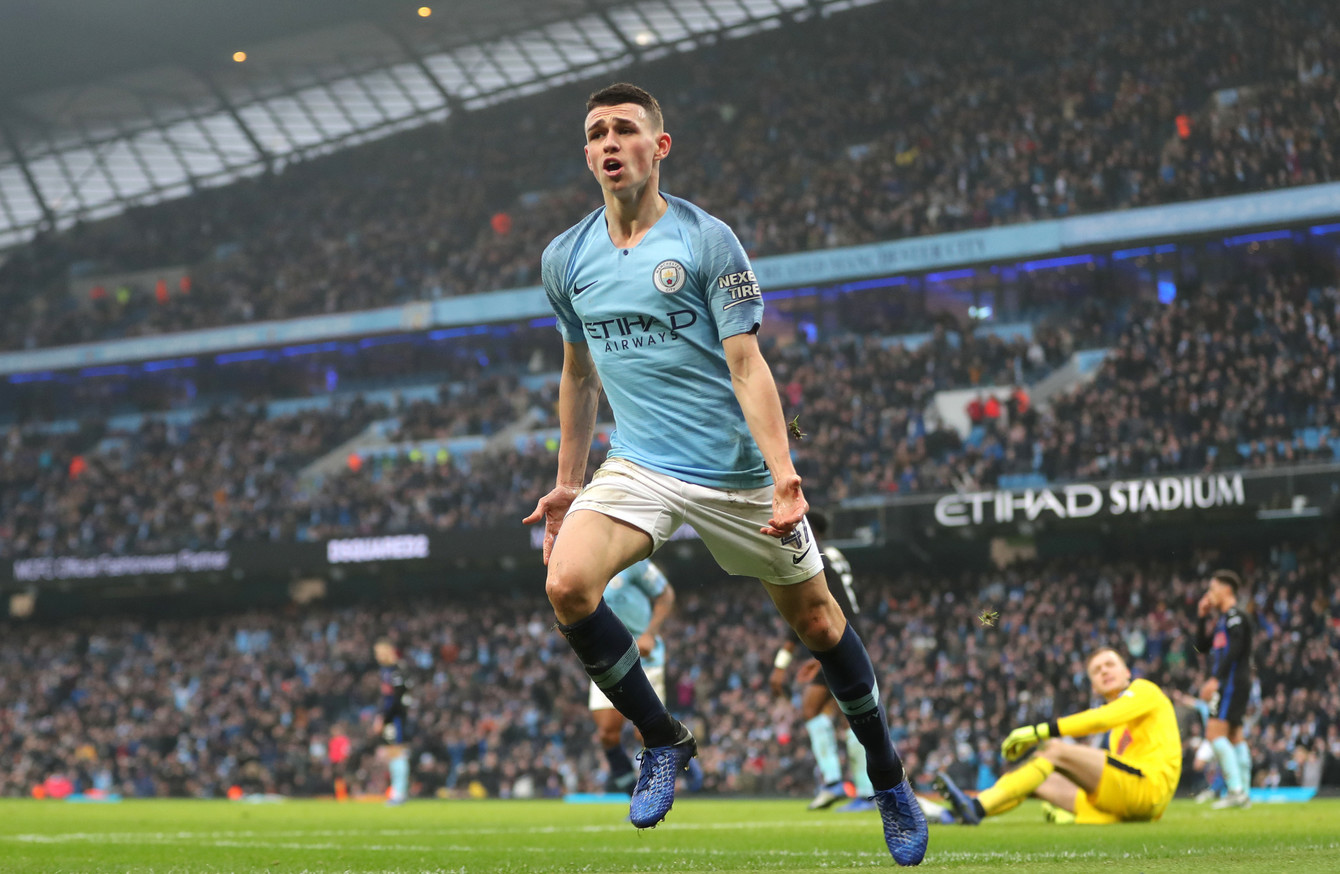 Image result for phil foden manchester city 2019