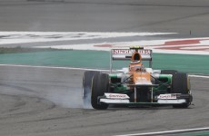 Force India pay high price for small victory
