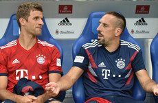 Muller backs Bayern team-mate Ribery after expletive-laden social media outburst