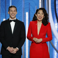 Poll: Do you fancy Andy Samberg and Sandra Oh a bit after the Golden Globes?